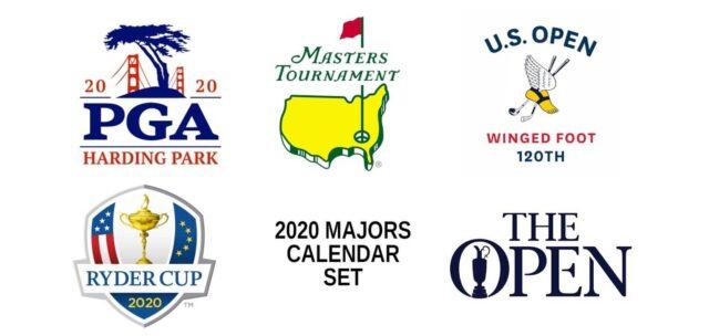 golf majors symbols