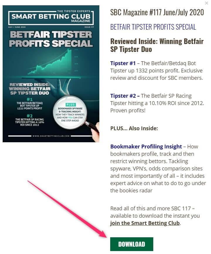sbc magazine betfair profits