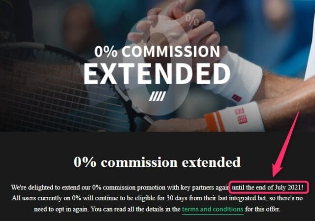 smarkets zero commission extended up to july 2021