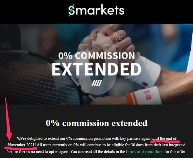 smarkets 0% November 2021
