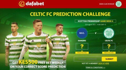 dafabet celtic free bet