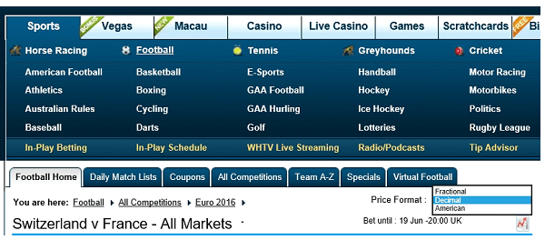Free Matched Bet Starting Guide (2) William Hill Placing Qualifying Bet 1